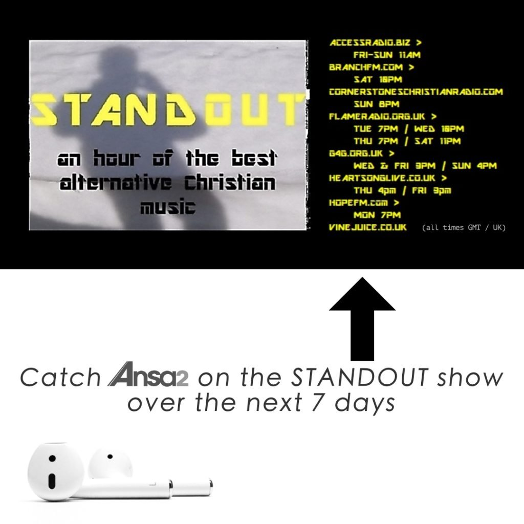 3 ANSA2 TRACKS FEATURED ON THE STANDOUT SHOW ON UK RADIO