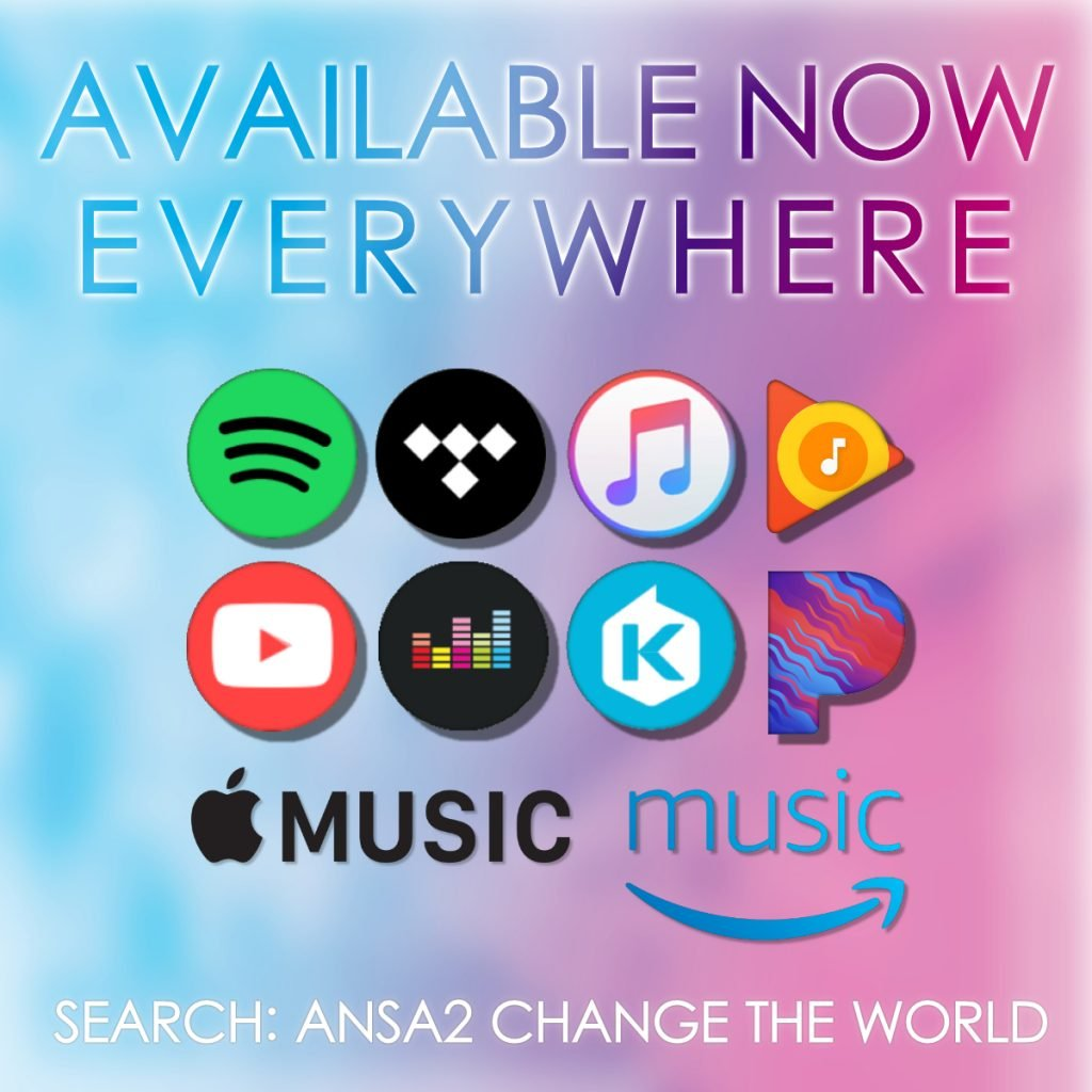 """ALBUM """"CHANGE THE WORLD"""" NOW AVAILABLE ON ALL DIGITAL MUSIC SERVICES"""